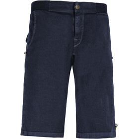 E9 Kroc Flax Shorts Heren, blue navy